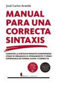 manual para una correcta sintaxis-jose carlos aranda-9788417418373