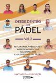 Descargar archivos de libros electrónicos DESDE DENTRO DEL PÁDEL VOL. 2 CHM DJVU de SANTIAGO SANCHEZ LOPEZ 9788418035173 en español