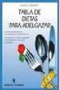 TABLA DE DIETAS PARA ADELGAZAR - 9788425514173 - JOCHEN G. BIELEFELD