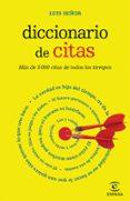 DICCIONARIO DE CITAS - 9788467007473 - LUIS SEÑOR
