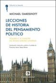 LECCIONES DE HISTORIA DEL PENSAMIENTOS POLITICO, VOLUMEN II - 9788472096073 - MICHAEL OAKESHOTT