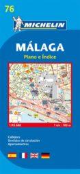 PLANO MICHELIN MALAGA (REF.19076) - 9782067127883 - VV.AA.