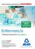 ENFERMERO/A DE LAS INSTITUCIONES SANITARIAS DE CANTABRIA: TEMARIO ESPECIFICO (VOL. 4) - 9788414214183 - VV.AA.