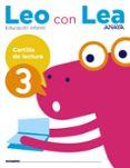 CARTILLA DE LECTURA 3 EDUCACION INFANTIL 5 AÑOS  MEC - 9788469829783 - VV.AA.