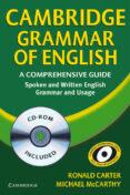 CAMBRIDGE GRAMMAR OF ENGLISH (INCLUYE CD-ROM) - 9780521674393 - RONALD CARTER