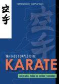 TRATADO COMPLETO DE KARATE - 9788420300993 - HERMENEGILDO CAMPS