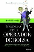 memorias de un operador de bolsa (ebook)-edwin lefevre-9788423409693
