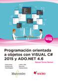 PROGRAMACION ORIENTADA A OBJETOS CON C# 2005 Y ADO. NET 4.6 - 9788426725493 - DESCONOCIDO