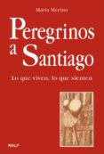 PEREGRINOS A SANTIAGO: LO QUE VIVEN, LO QUE SIENTEN - 9788432133893 - MARIA MERINO
