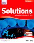 SOLUTIONS P-INT SB 2ED - 9788467381993 - VV.AA.