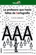 LA PROFESORA QUE HACIA FALTAS DE HORTOGRAFIA CUCA CANALS