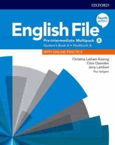 Descargar ENGLISH FILE PRE- INTERMEDIATE  :  STUDENT BOOK/WORK BOOK 4ED gratis pdf - leer online