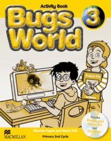 bugs world 3 activity book pack-9780230407503