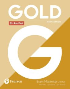 Descarga de libros electrónicos de Rapidshare GOLD PRE-FIRST NEW EDITION MAXIMISER WITH KEY de LYNDA EDWARDS 9781292202303 (Spanish Edition)
