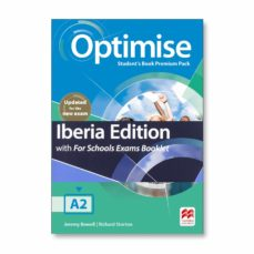 Descargas de libros de texto en línea OPTIMISE A2 EXAM BKLT STUDENT S BOOK PREMIUM PACK 2019 (Spanish Edition)
