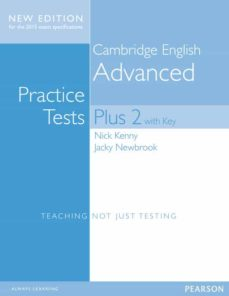cambridge english advanced practice tests plus 2 with key-9781447966203