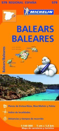 mapa regional balears / baleares-9782067184503