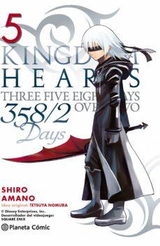 kingdom hearts 358/2 days 5-shiro amano-9788416308903