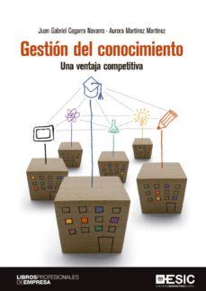 gestión del conocimiento. una ventaja competitiva (ebook)-juan gabriel cegarra navarro-aurora martinez martinez-9788417129903