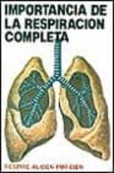 importancia de la respiracion completa-clemente hernandez-9788420301303