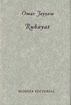 Enlaces de descarga de libros en pdf gratis RUBAYAT (ED. BILINGÜE) de OMAR JAYYAM in Spanish MOBI