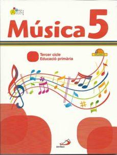 Permacultivo.es Musica 5 - Projecte Acord. Libro Del Alumno + Cuaderno Actividades. Valenciano: Educació Primària. 3º Cicle Image