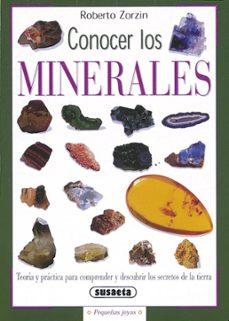 conocer los minerales-roberto zorzin-9788430533503