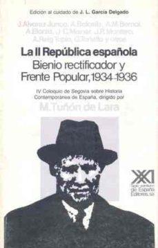 Trailab.it Segunda Republica Española Bienio Rectificador Y Frente Popular Image