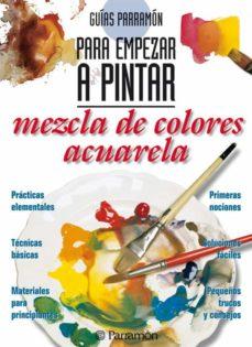 mezcla de colores: acuarela-9788434219403
