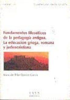 Srazceskychbohemu.cz Fundamentos Filosóficos De La Pedagogía Antigua. La Educación Gri Ega, Romana Y Judeocristiana Image