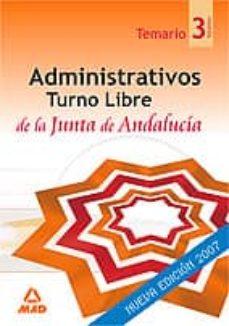 Titantitan.mx Administrativos De La Junta De Andalucia. Turno Libre. Temario (V Ol. Iii) Image