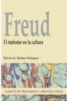 Descargar EL MALESTAR EN LA CULTURA gratis pdf - leer online