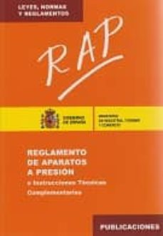 Curiouscongress.es Rap: Reglamento De Aparatos A Presion E Instrucciones Tecnicas Co Mplementarias (2ª Ed.) Image