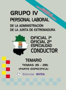 Inmaswan.es Oficiales 1ª - 2ª Conductor (Temas 15 - 28) (Temario) Image