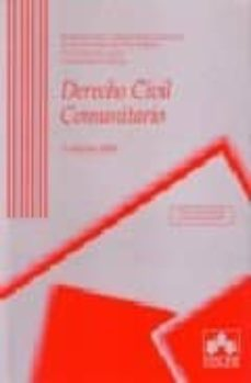 Elmonolitodigital.es Derecho Civil Comunitario (3ª Ed.) (Incluye Cd-rom) Image