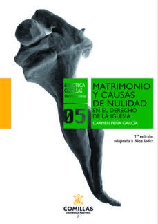 Garumclubgourmet.es Matrimonio Y Causas De Nulidad En El Derecho De La Iglesia (2ª Ed.) Image