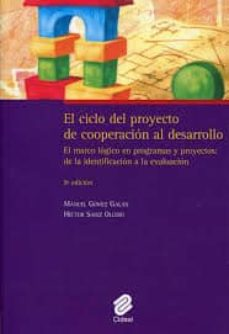 el ciclo del proyecto de cooperacion al desarollo-manuel gomez galan-9788487082603
