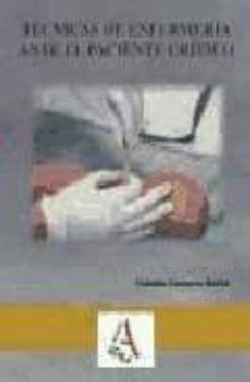 Libros en ingles descarga gratuita pdf TECNICAS DE ENFERMERIA EN EL PACIENTE CRITICO 9788496224803 en español de YOLANDA GAMARRA BARBA