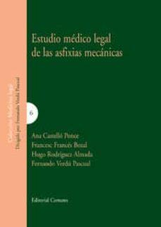 Descargar Ebook nederlands gratis ESTUDIO MEDICO LEGAL DE LAS ASFIXIAS MECANICAS