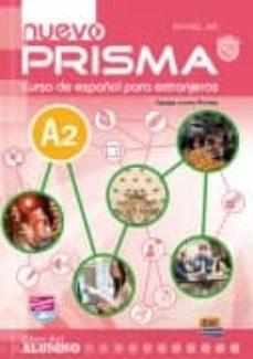Textbooknova: NUEVO PRISMA A2 LIBRO DEL ALUMNO + CD de  (Literatura española)  9788498483703