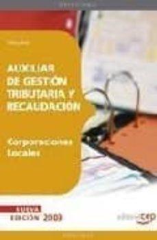 Srazceskychbohemu.cz Auxiliar De Gestion Tributaria Y Recaudacion De Corporaciones Loc Ales: Temario Image