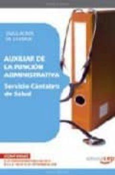Canapacampana.it Auxiliar De La Funcion Administrativa. Servicio Cantabro De Salud . Simulacros De Examen Image