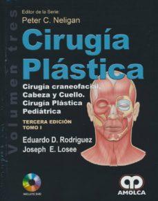 Descargas de libros de Amazon para ipod touch CIRUGÍA PLÁSTICA. CIRUGÍA CRANEOFACIAL, CABEZA Y CUELLO, CIRUGÍA PLÁSTICA PEDIÁTRICA. VOLUMEN 3. 2 VOLS. + DVD
