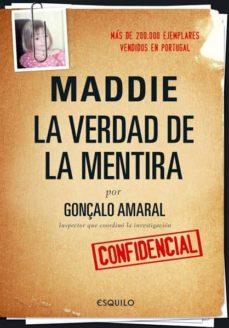 MADDIE: LA VERDAD DE LA MENTIRA | GONÇALO AMARAL | Comprar libro ...
