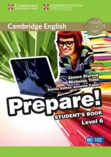 Descargar CAMBRIDGE ENGLISH PREPARE! 6 STUDENT S BOOK gratis pdf - leer online