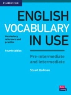 Descarga gratuita de audio libro mp3. ENGLISH VOCABULARY IN USE PRE-INTERMEDIATE AND INTERMEDIATE WITH ANSWERS 9781316631713 in Spanish de STUART REDMAN