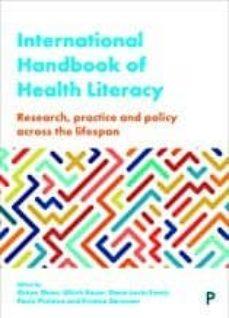 Pdf libros de ingles descarga gratis INTERNATIONAL HANDBOOK OF HEALTH LITERACY: RESEARCH, PRACTICE AND POLICY ACROSS THE LIFE-SPAN de  9781447344513