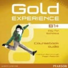 gold experience b1+ class audio cds-9781447973713