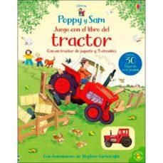 Titantitan.mx Poppy Y Sam Juega Con El Libro Del Tractor: Libros Con Juguete De Cuerda Con Un Tractor De Jueguete Y 5 Circuitos Image