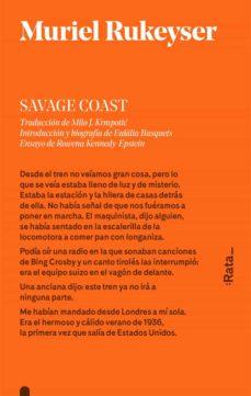 Amazon kindle descargar libros a la computadora SAVAGE COAST de MURIEL RUKEYSER en español CHM RTF DJVU 9788416738113